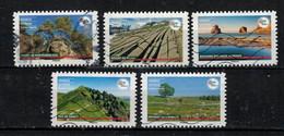 Nouveauté 2021 Dernière Série 5 Timbres - Used Stamps