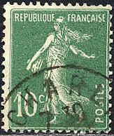 France Poste Obl Yv: 188B Mi:1411 Semeuse Camée Sans Sol Fond Uni (TB Cachet Rond) - Gebraucht