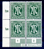 BIZONE 1945 Nr 35 Postfrisch (408551) - Amerikaanse-en Britse Zone