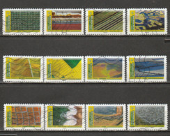 France 2021 Oblitéré: Paysages - Adhesive Stamps