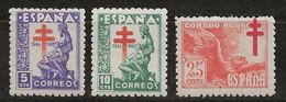 Espagne 1946 N° Y&T : 757,758 Et PA. 233 ** - 1931-50 Neufs