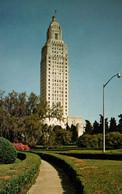 Louisiana State Captiol, Baton Rouge LA - Pub. By B.F. Holmes - Card Not Circulated - Baton Rouge