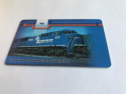 13:458 - Bulgaria  Chip Train - Bulgarie