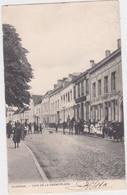 Vilvoorde - Hoek Van De Grote Markt (Decrée) (geanimeerde En Gelopen Kaart Van Voor 1900 Met Zegel) - Vilvoorde