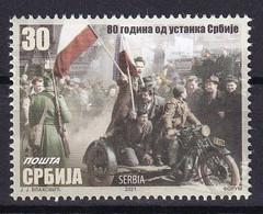 SERBIA 2021,80 Years Since The Serbian Uprising,MNH - Serbia