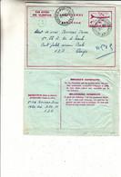 Belgique - Aérogramme Militaire De 1980 ? - Oblit Postes B.P. 11 - Avions - - Cartas