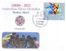 (WW 6 A) 2020 Tokyo Summer Olympic Games - Australia Silver Medal 5-08-2021 - Hockey's - Men's - Summer 2020: Tokyo