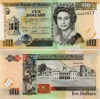 BELIZE      10 Dollars        P-68d       1.11.2011       UNC - Belice