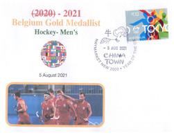 (WW 15 B) 2020 Tokyo Summer Olympic Games - Belgium Gold Medal - 5-8-2021 - Hockey's Mens - Summer 2020: Tokyo