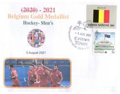 (WW 15 B) 2020 Tokyo Summer Olympic Games - Belgium Gold Medal - 5-8-2021 - Hockey's Mens - Eté 2020 : Tokyo