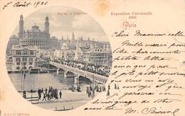 PARIS - Exposition Universelle 1900 - Vue Sur LeTrocadéro - Mostre