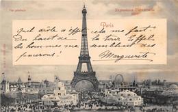 PARIS - Exposition Universelle 1900 - Vue Générale - Tour Eiffel - Mostre