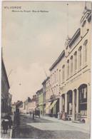 Vilvoorde - Het Volkshuis In De Mechelse Straat (gekleurde En Niet Gelopen Kaart) - Vilvoorde