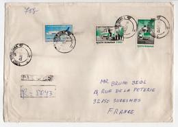 - Lettre Recommandée TIMISOARA (Roumanie) Pour SURESNES (France) 25.12.1997 - Bel Affranchissement Philatélique - - Lettres & Documents