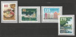 Österreich 2019 Dispenser Mi 21 - 24 ** Postfrisch - 2011-2020 Unused Stamps