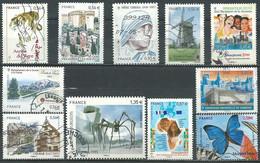 France N° 4433 - 4441 à 4443 - 4455 - 4489 - 4491 - 4492 - 4495 à 4497   Obl. - Used Stamps