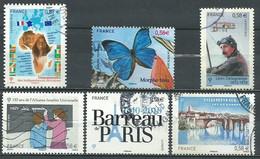 France N° 4496 - 4497 - 4502 - 4509 - 4512 - 4513   Obl. - Used Stamps