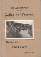 Rare Guide De Hotton 1933 Nombreuses Pub, Photos, 60 Pages Très Bon état Hôtel, Brasserie - Belgium
