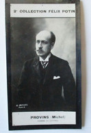 """Michel Provins Né à Nogent-sur-Seine 2/2 """"Gabriel Lagros De Langeron"""" Ecrivain -  2ème Collection Photo Felix POTIN 1908 - Félix Potin"""