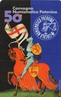 ITALY - TELECOM ITALIA -  50° CONGRESSO NUMISMATICO PATAVINO - 1735 - MINT - Openbare Reclame