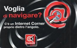 ITALY - TELECOM ITALIA - INTERNET CORNER 2002 - 1607 - MINT - Openbare Reclame