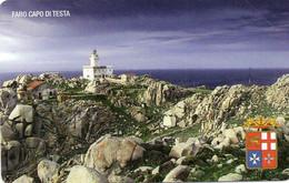 ITALY - TELECOM ITALIA - FARO CAPO DI TESTA - SANTA TERESA DI GALLURA - 2152 - MINT - Openbare Reclame