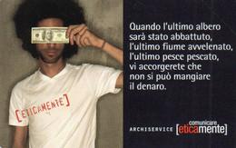ITALY - TELECOM ITALIA - ARCHISERVICE É TEMPO DI IDEE - 1715 - MINT - Openbare Reclame
