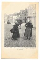Cpa: 62 BOULOGNE SUR MER - Types De Porteuses De Poissons (Tramway, Hôtel De Flandre) N° 1060  Ed. R.P. (précurseur) - Boulogne Sur Mer