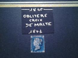 Ensemble Philatélique GRANDE BRETAGNE  Victoria CROIX DE MALTE - Used Stamps