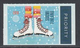 2018 Finland Skating Skates Complete Set Of 1  MNH @ BELOW FACE VALUE - Unused Stamps
