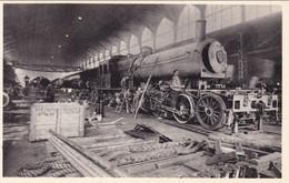 COUILLET - Usines Métallurgiques Du Hainaut - Montage D'une Locomotive - Edit. Van Melle - N'a Pas Circulé - Charleroi