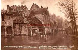 CPA CHARTRES - LES BORDS DE L'EURE - SALON PARIS 1918 - Chartres