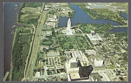 PC - Louisiana Capitol And Environs, Aerial View . Unused - Baton Rouge