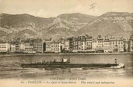 83* TOULON  Sous Marin    RL09.0731 - Toulon