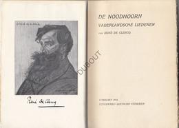 UNIEK De Noodhoorn De Clercq 1916 Ex Libris Joris Van Severen!!Verdinaso /Vlaams (N453) - Estampas & Grabados