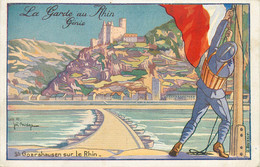 68* ST GOARSHAUSEN  La Garde Au Rhin – Genie  (illustree)   RL12.0538 - Other Municipalities