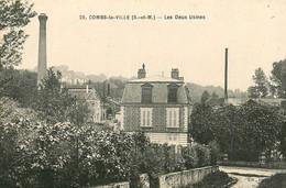 77* COMBS LA VILLE Les Deux Usines     RL12.1234 - Combs La Ville