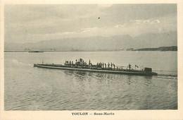 83* TOULON  Sous Marin     RL13.0420 - Toulon