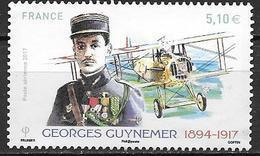 France 2017 Poste Aérienne N° 81 Neuf G. Guynemer à La Faciale + 10% - 1960-.... Nuevos