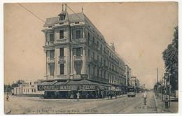 CPA - TUNISIE - TUNIS - L'Avenue De Paris (G. Café De Madrid) - Tunisie