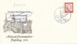 SOEST 1  -  1964  ,  20  Pf.  J.S.Bach  -   Treffen Der Altbriefsammler ... -  Privatumschlag  PU 31 / 2 - Privatumschläge - Gebraucht