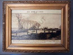 IEPER/Drie Grachten/Merkem/Luigem Schilderij Aux Bords De L'Yser 1915 A.Joos (T10) - Otros