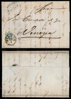 Antichi Stati Italiani - Lombardo Veneto - 45 Cent (22) Su Lettera Da Milano A Venezia Del 23 Luglio 1858 (400) - Non Classificati