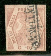 Antichi Stati Italiani - Napoli - 1859 - 10 Grana (11) - II Tavola - Usato - Non Classificati