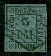 Antichi Stati Italiani - Romagne - 1859 - 3 Bai (4) - Usato - Non Classificati