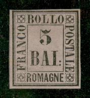 Antichi Stati Italiani - Romagne - 1859 - 5 Bai (6) - Gomma Originale - Diena - Non Classificati