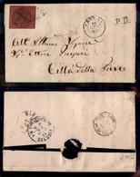 Antichi Stati Italiani - Stato Pontificio - 20 Cent (18) Su Lettera Da Roma A Città Della Pieve Del 10.1.68 (500) - Non Classificati