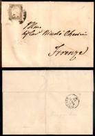 Antichi Stati Italiani - Sardegna - 10 Cent (14Cd) - Lettera Da Arezzo A Firenze Del 18.5.61 - Oliva - Non Classificati