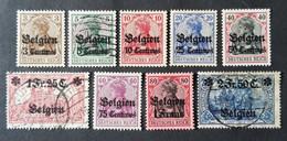 Belgique - België, Timbre(s) Occupation Mh* & (O) - 1 Scan(s) - TB - 1140 - [OC1/25] General Gov.