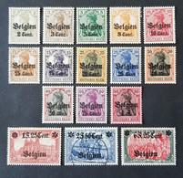 Belgique - België, Timbre(s) Occupation Mh* & (O) - 1 Scan(s) - TB - 1141 - [OC1/25] General Gov.